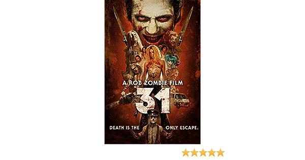 002C2 A Rob Zombie Film 31 Horror Movie Deco Print Art Silk Poster