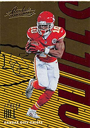 2018 Absolute Football  50 Tyreek Hill Kansas City Chiefs Official NFL  Trading Card made by a989f9a1e
