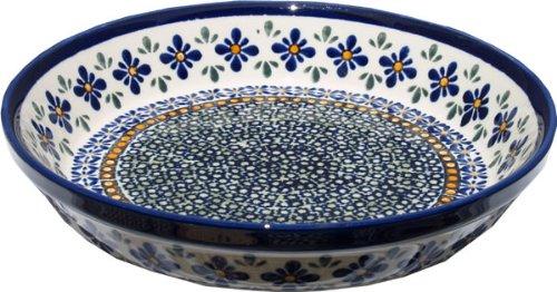 Bunzlauer Polish Pottery 10-Inch Pie Plate, DU60 Design