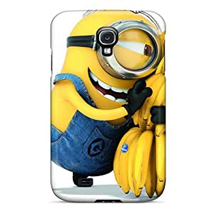Ywd568qefT Wadeprice Awesome Case Cover Compatible With Galaxy S4 - Minion