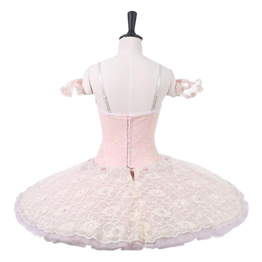 885a5c3c9e QSEFT Sleeping Beauty Pink Professional Tutus Adult Costume Tutu  Professional Ballet Tutu Child Ballet Performance Tutu,Adultsizexs:  Amazon.co.uk: Sports & ...