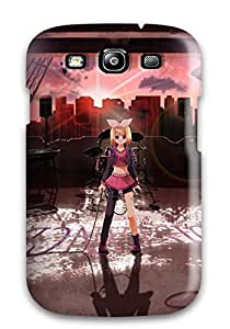 Cheap 4041380K40623896 Galaxy S3 Kagamine Rin Anime Tpu Silicone Gel Case Cover. Fits Galaxy S3