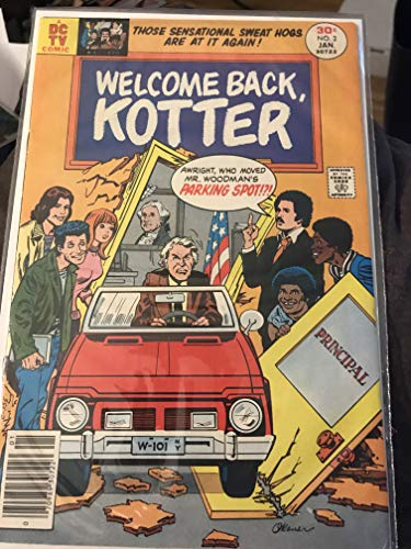 Welcome Back,Kotter #2 Comic Book (Jan 1977) Very Fine 2 Very Fine Comic Book