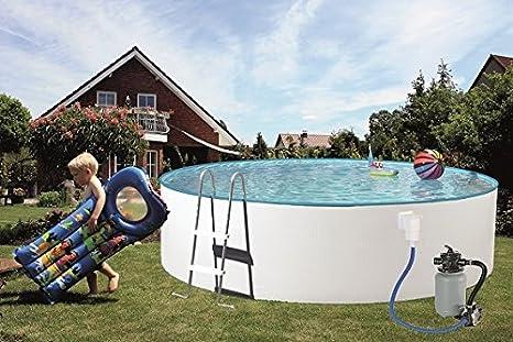 Pool Piscina Juego de Splash 360 x 110 cm, con filtro de arena: Amazon.es: Jardín