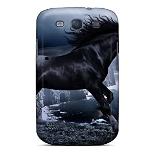Galaxy S3 Case Slim [ultra Fit] Black Beauty Protective Case Cover