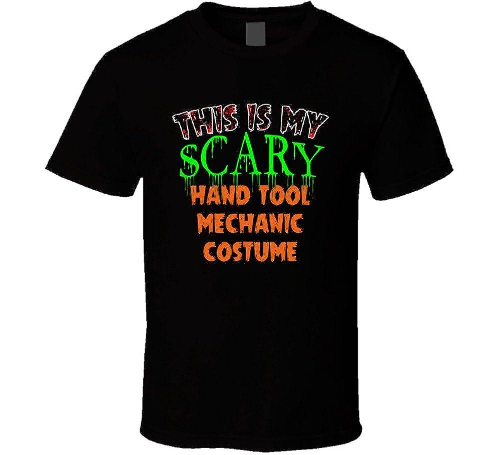 This Is My Scary Hand Tool Mechanic Halloween Funny Custom Job Shirts