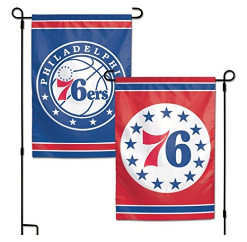 WinCraft NBA Philadelphia 76Ers 2-Sided Garden -
