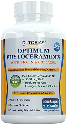 Dr. Tobias Hair Skin Nails Phytoceramides 30 Caps