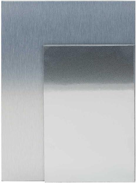 ".063/"" x 48/"" x 60/"" Painted Aluminum Sheet Black//White"