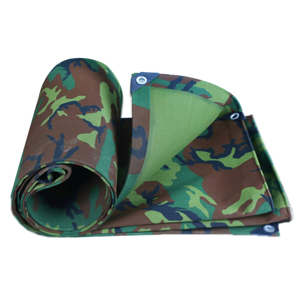 BYCDD Tarps Heavy Duty Waterproof, Large tarps with Grommets Four Seasons General Purpose Durable,4x7m