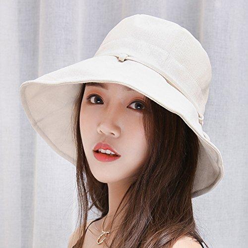 HAPEE Womens Sun Hat,Both Sides wear,UPF 50+ Beach Hat Foldable Wide Brim by HAPEE (Image #3)