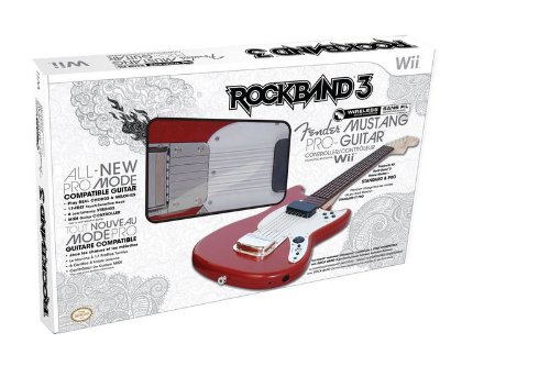 (Rock Band 3 Wireless Fender Mustang PRO-Guitar Controller for Wii)
