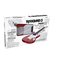 Wii Rock Band 3 Wireless Fender Mustang PRO-Guitar Controller - Wireless Edition