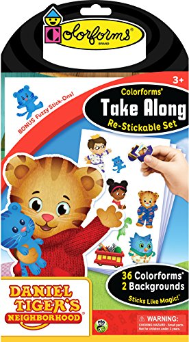 Colorforms Take Along Daniel Tiger