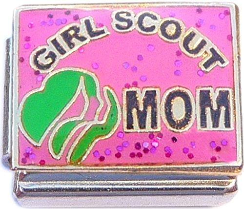 Girl Scout Mom Italian Charm