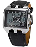 AMPM24 LCD Date Day Alarm Men Digital Sport Quartz Wrist Watch OHS033