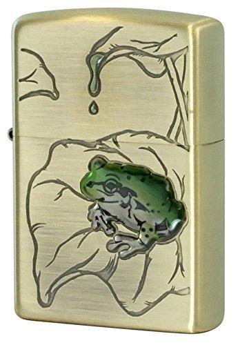 Zippo Frog Brass