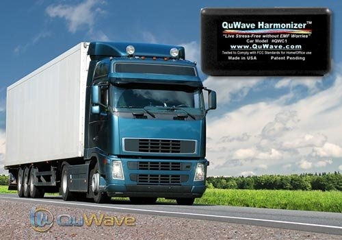 EMF Protection for Cars and Trucks. Protection on the road from EMF hazards produced from electronics in a car/truck. Mobile EMF Protection, EMF Shield. Protective Field Enhances Mental, Physical Performance, Fights Stress, Illness, Negative Energies, Ext by QuWave LLC (Image #1)