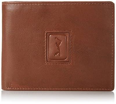 PGA TOUR Men's Leather Passcase PGA Logo
