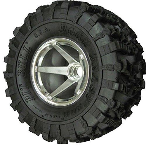 Pit Bull Xtreme RC Rock Beast XOR 2.2 Crawler Tire KK (2), No Foam, PBTPB9001KK (Rc Pit Bull Tires)