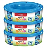 Pack of 3 x 270 Count BUILT DURABLE Odor Lock Playtex Odor Lock Diaper Genie Refills for Diaper Genie Diaper Pails