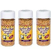 Organic Garlic Gold Nuggets, Crunchy Roasted Garlic Seasoning Granules, Sodium Free no MSG Free, ...