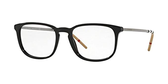 195796fed5c Eyeglasses Burberry BE 2283 3001 BLACK at Amazon Men s Clothing store