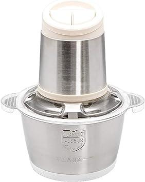 8 tazas Procesador de alimentos eléctrico Chopper pequeño Bol de ...