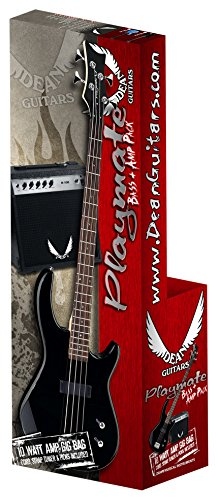 Dean Starter Bass Pack with Edge 09 Bass, Classic Black by Playmate by Dean