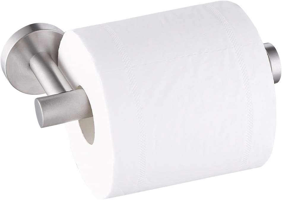 KES SUS304 Stainless Steel Bathroom Lavatory Toilet Paper Holder and Dispenser Wall Mount Brushed, A2175S12-2