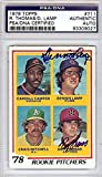 Roy Thomas & Dennis Lamp Autographed Signed 1978 Topps Card #711 - PSA/DNA Certified - Baseball Slabbed Autographed Cards