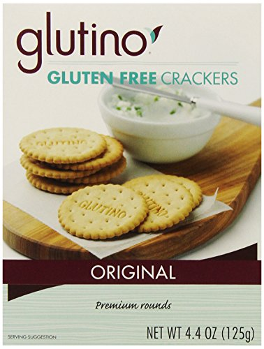 Glutino Gluten Free Crackers (Glutino Gluten Free Crackers, Original, 4.4 Ounce Boxes (Pack of 6))