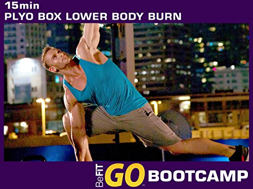 Plyo Box Lower Body Burn Workout: 15 Min- BeFiT GO