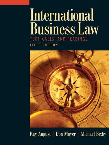 Bixby Key (International Business Law (5th Edition))