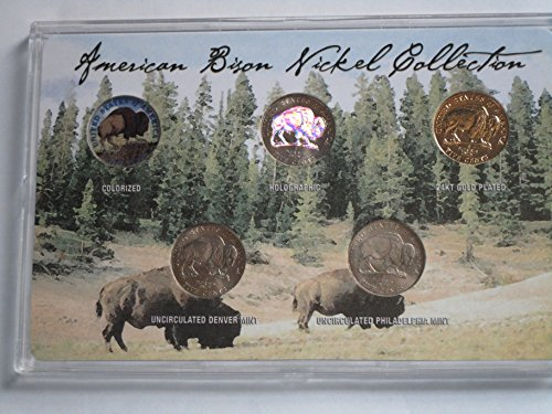 1938 Jefferson Nickel - 1938 Various Mint Marks -2005 American Nickel Collection Choice Fine