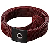 LUREMASTER Fishing Spinning Rod Sleeve Protective Cover Protector Rod Sock (Burgundy)