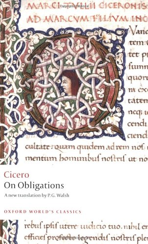 On Obligations: De Officiis