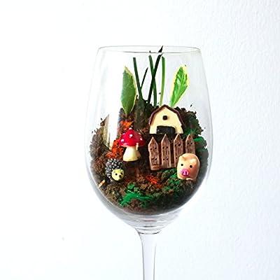 VGOODALL 24 pcs Miniature Garden Ornaments, Fairy Garden Animals for Dollhouse Plant Pot, Home Decoration: Garden & Outdoor