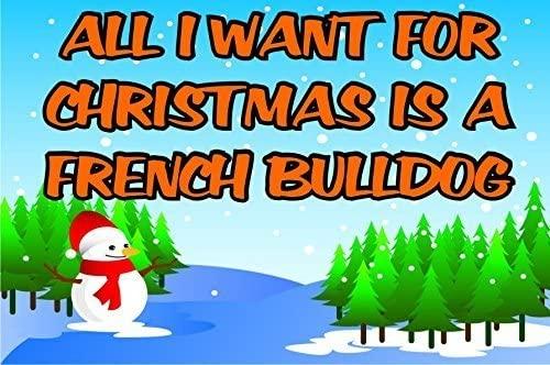 TODO LO QUE QUIERO para Navidad Es Un bulldog francés Imán de ...