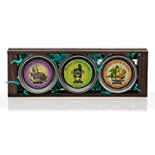 Gourmet Dip Mix Trio in a Wooden Crate (Dill, Spinach, & Toasted Onion)