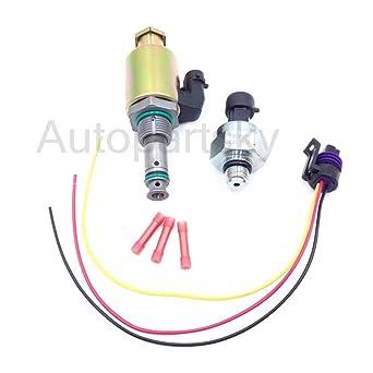Valves & Parts Fuel Injection Pressure Regulator Sensor