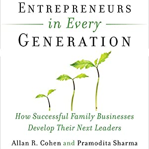 Entrepreneurs in Every Generation Audiobook