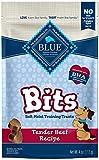 Image of Blue Buffalo BLUE Bits Soft-Moist Training Dog Treats, Beef Recipe 4-oz bag