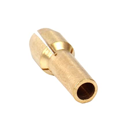 4Pc Brass Collet Set for Rotary Tools