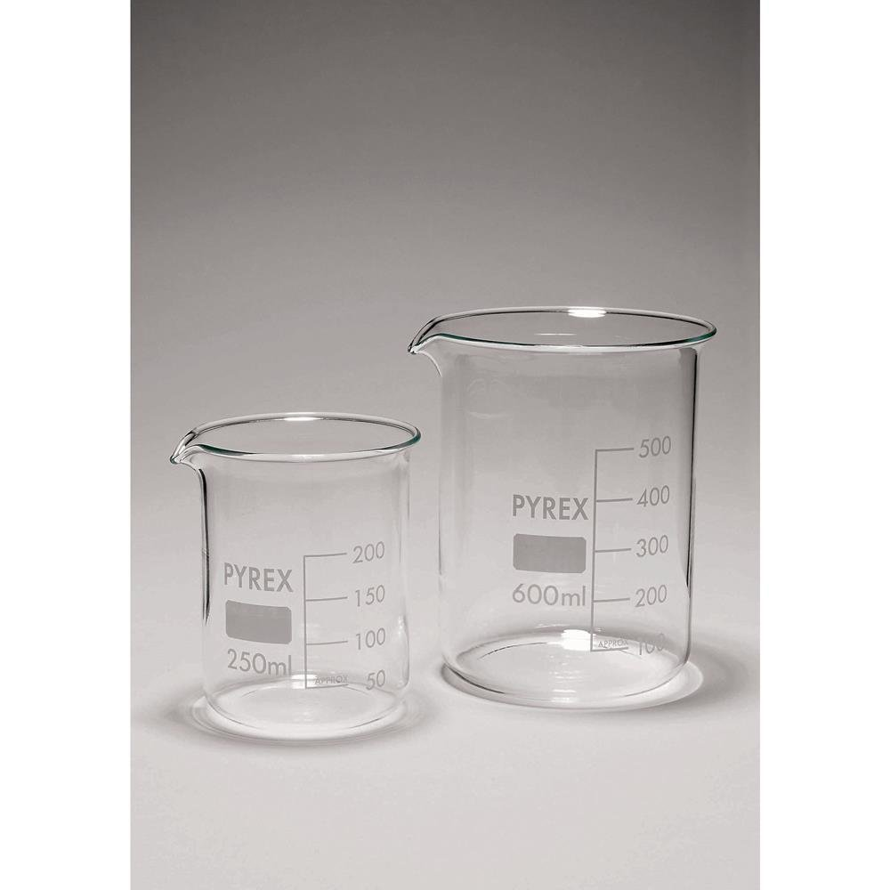 Pyrex Glass Squat Form Beaker - 150mL SciLabware Ltd