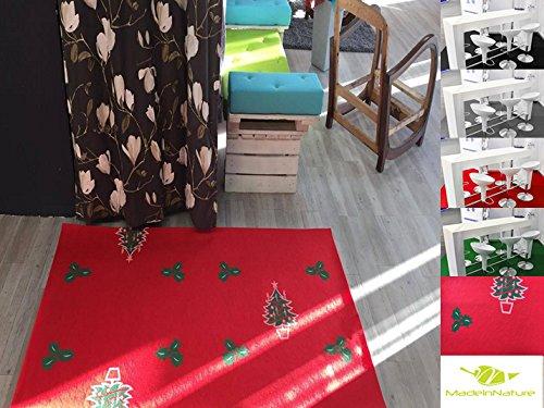 Un tappeto natalizio