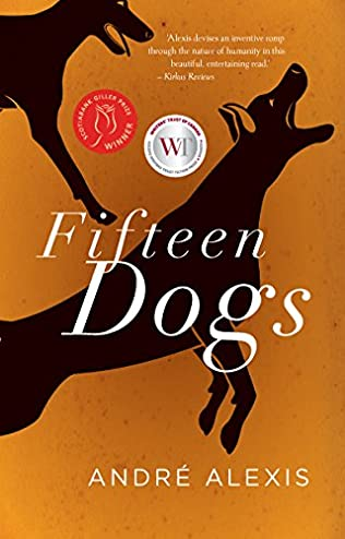 book cover of Fifteen Dogs