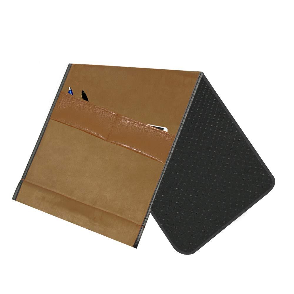 Livre PureLife Products Organiseur de canap/é inclinable en Cuir PU antid/érapant avec 7 Poches t/él/écommande TV Magazines /étag/ère de Rangement /étanche pour t/él/éphone