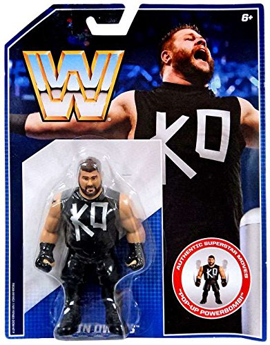 WWE Retro Collection Kevin Owens Action Figure 4.5 Inches (John Toy Stuffed Cena)