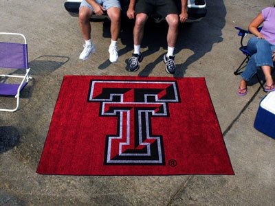 Tech Red Raiders Tailgater Mat (Texas Tech Tailgater Rug 5x6 - Licensed Texas Tech Red Raiders Gifts)